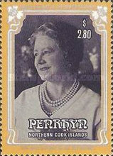 [The 85th Anniversary of the Birth of Queen Elizabeth the Queen Mother, 1900-2002, type LA]