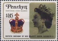 [The 60th Anniversary of the Birth of Queen Elizabeth II, type LM]