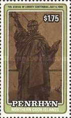 [The 100th Anniversary of Statue of Liberty, New York, type LP]