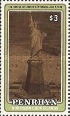 [The 100th Anniversary of Statue of Liberty, New York, type LQ]