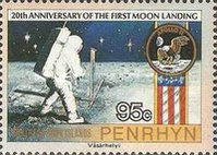 [The 20th Anniversary of First Manned Moon Landing, type NG]
