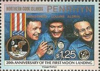 [The 20th Anniversary of First Manned Moon Landing, type NH]