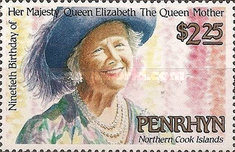 [The 90th Anniversary of the Birth of Queen Elizabeth the Queen Mother, 1900-2002, type NO]
