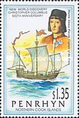 [The 500th Anniversary of Discovery of America, type OU]