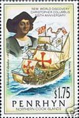 [The 500th Anniversary of Discovery of America, type OV]