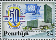 [The 50th Anniversary of the United Nations, type QC]