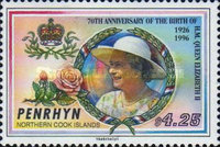 [The 70th Anniversary of the Birth of Queen Elizabeth II, type QH]