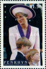 [Diana, Princess of Wales Commemoration, 1961-1997, type QM]
