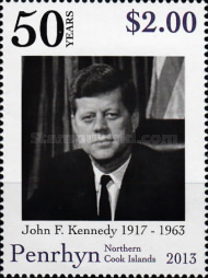 [The 50th Anniversary of the Death of J.F.Kennedy, 1917-1963, type US]