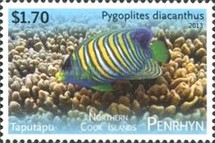 [Tropical Fish of the Pacific - With White Frame, type UZ]