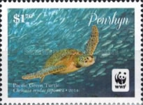 [WWF - Pacific Green Turtle, type VV]