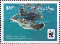 [WWF - Pacific Green Turtle, type VW]