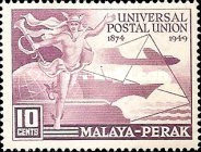 [The 75th Anniversary of Universal Postal Union, Typ R]