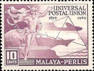 [The 75th Anniversary of the Universal Postal Union, type C]