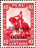 [Postage Stamp of 1934 Overprinted