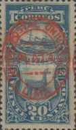 [Previously Issued Postage Due Stamps Overprinted in Blue or Red Colour - With Grill, Typ F3]
