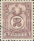 [Numeral Stamps - New Colours, Typ P1]