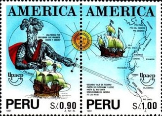 [America 1991 - Voyages of Discovery, type ]