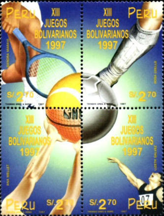 [The 13th Bolivarian Games, Arequipa, Typ ]