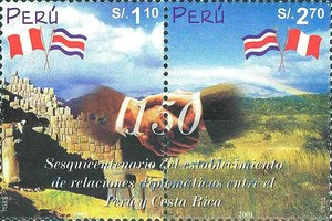 [The 150th Anniversary of Peru-Costa Rica Diplomatic Relations, Typ ]