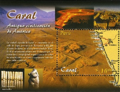 [Caral Archaeological Site, Typ ]