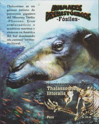 [Prehistoric Animals - Fossils, type ]