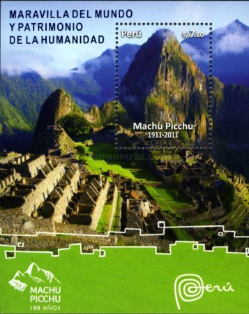 [The 100th Anniversary of the Discovery of Machu Picchu, type ]