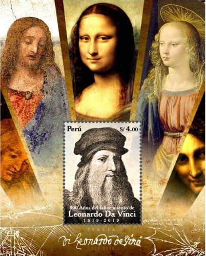 [The 500th Anniversary (2019) of the Death of Leonardo da Vinci, 1452-1519, type ]