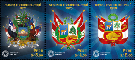 [The 200th Anniversary of the Coat of Arms of Peru, Typ ]