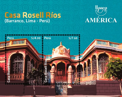 [America UPAEP Issue 2020 - Architecture - Casa Rosell Rios, type ]