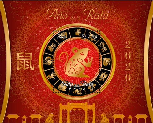 [Chinese New Year 2020 - Year of the Rat, type ]