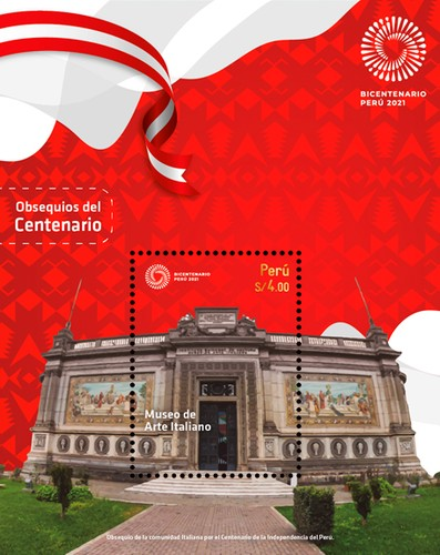 [The 200th Anniversary of Independence - The Museum of Italian Art - Lima, Peru, type ]