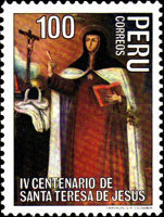 [The 400th Anniversary of the Death of Saint Theresa of Avila, 1515-1582, Typ ACT]