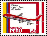 [The 25th Anniversary of Lima-Bogota Airmail Service, Typ ACX]
