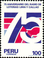 [The 75th Anniversary of Lima and Callao State Lotteries, Typ ACY]