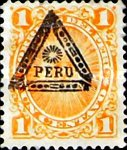 [Peru Postage Stamps Overprinted, type AD]
