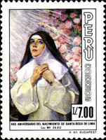 [The 400th Anniversary of the Birth of Saint Rosa de Lima, 1586-1617, Typ AFK]