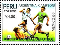 [Football World Cup - Mexico 1986, Typ AGZ]