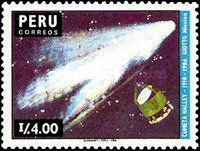 [Appearance of Halley's Comet 1986, Typ AHB]
