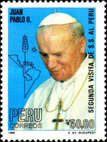 [The 2nd Visit of Pope John Paul II, type AHW]