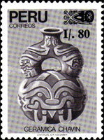 [Chavin Culture - Unissued Stamps Surcharged, Typ AHZ1]