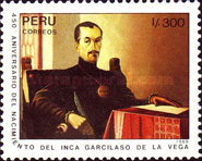 [The 450th Anniversary of the Birth of Garcilaso de la Vega, Writer, 1539-1616, Typ AIG]