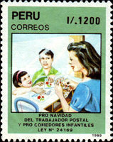 [Postal Workers' Christmas and Children's Restaurant Funds, Typ AIN]