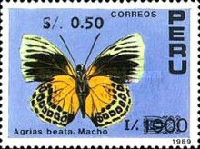 [Various Stamps Surcharged, type AJF1]
