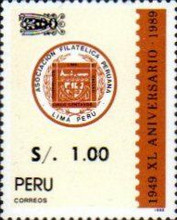[Various Stamps Surcharged, type AJJ1]