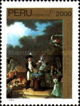[The 200th Anniversary of French Revolution - Paintings, type AJN]