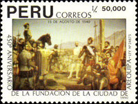 [The 450th Anniversary of Arequipa, Typ AJP]