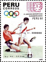 [The 4th South American Games, type AJV]