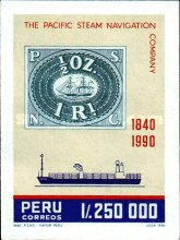 [The 150th Anniversary of Pacific Steam Navigation Company, type AJW]