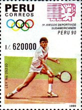[The 4th South American Games, type AKC]